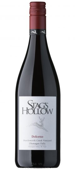 Stag's Hollow Dolcetto Shuttleworth Creek Vineyard
